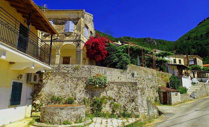 Corfu Ano Korakiana hotels apartments