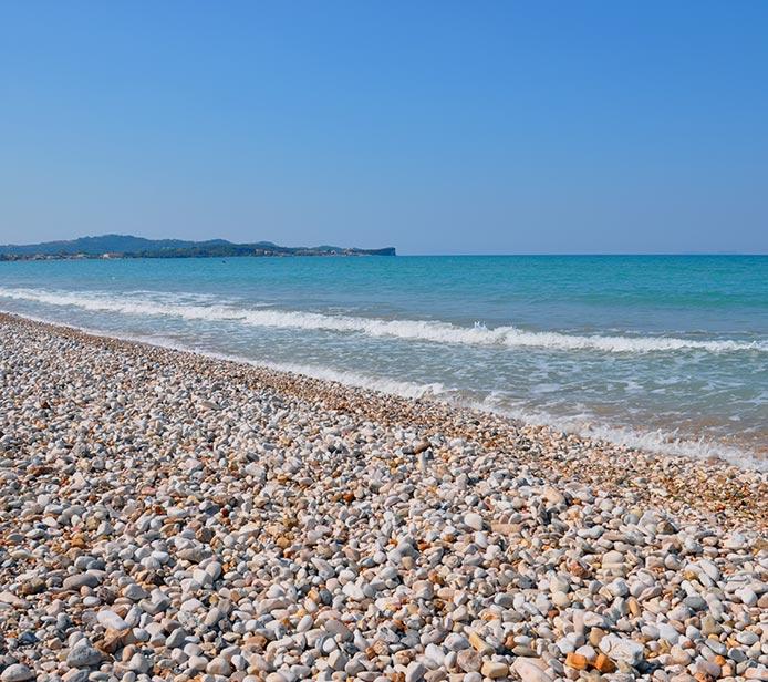 acharavi beach corfu hotels apartments villas