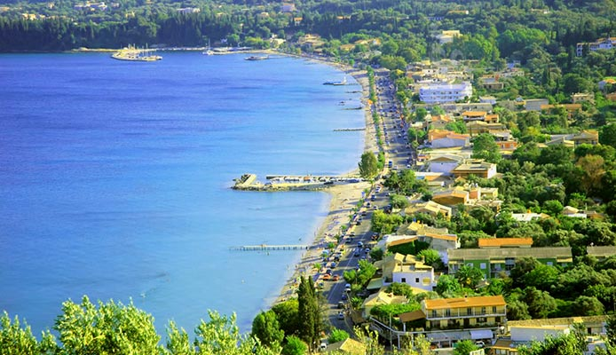 Ipsos-beach-Corfu-hotels&apartments