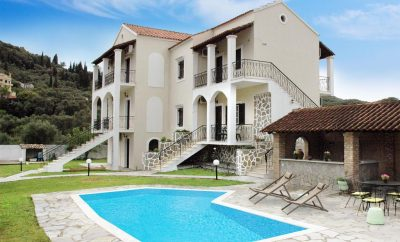 Alonia Spileo Apartments in Messonghi, Corfu