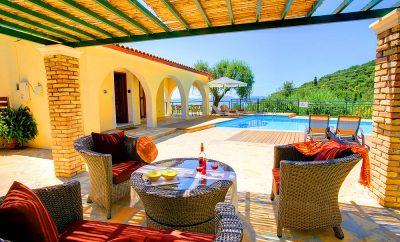 Villa Nitsa in Nissaki Corfu